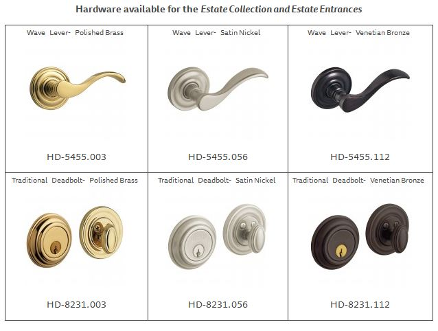 Hardware for Estate Collection